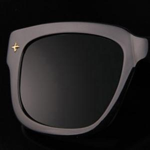 Chic Rivet Embellished Quadrate Sunglasses For Women - RANDOM COLOR PATTERN