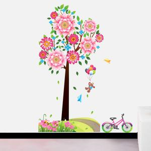 DIY Sweet Big Tree Pattern Home Decoration Decorative Wall Stickers -