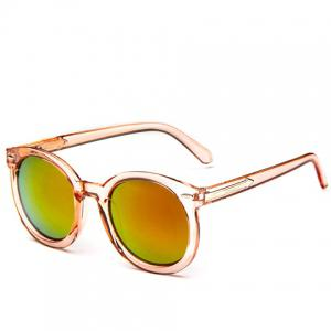 Arrow Embellished Transparent Frame Gradient Sunglasses -