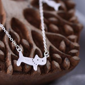 Cat Fish Pendant Necklace - SILVER