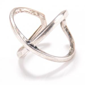 Vintage X Shape Cuff Ring