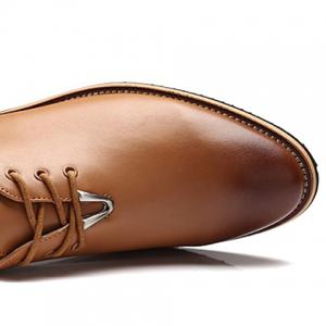 Trendy Metal and Lace-Up Design Men's Casual Shoes -