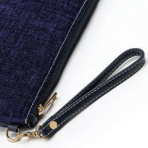 Trendy Corduroy and Solid Color Design Women's Clutch Bag -