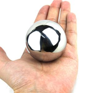 Environmental 304 Stainless Steel 55MM Round Ball Ice Hockey for Drinks -