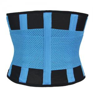 Stylish Color Block Hollow Out Women's Waist Training Corset -