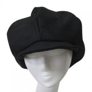Stylish Solid Color Winter Felt Newsboy Cap For Men -