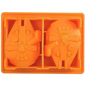 Cute Millennium Falcon Shape Mold Multi-Function Silicon Ice Cube Tray -