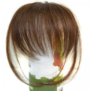 Trendy Ultrathin Capless Stunning Clip In Synthetic Full Bang With Sideburns For Women -