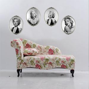 Creative Marilyn Monroe Style Removable Wall Stickers Fashion Room Window Decoration -