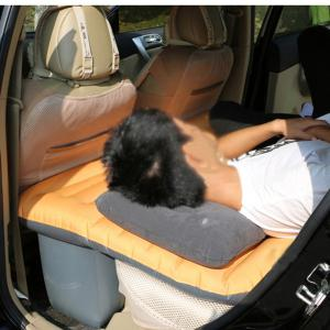 LEBOSH Mobile Inflatable Bed Thickening Back Seat Mattress -