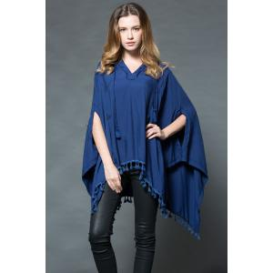 The Endless Hooded Poncho -