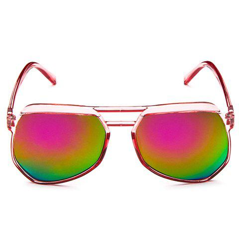 Affordable Transparent Frame Gradient Sunglasses