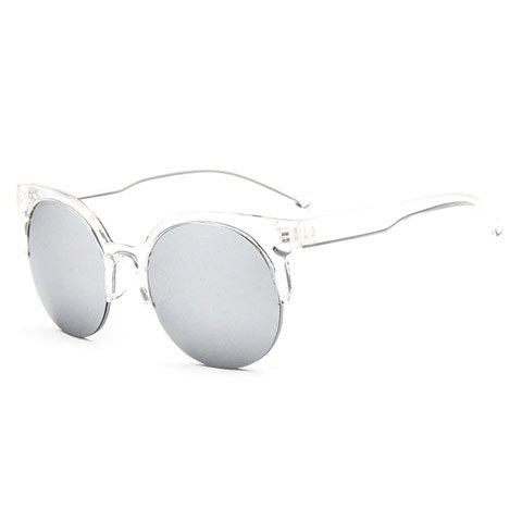 Store Chic Transparent Frame Candy Color Sunglasses For Women