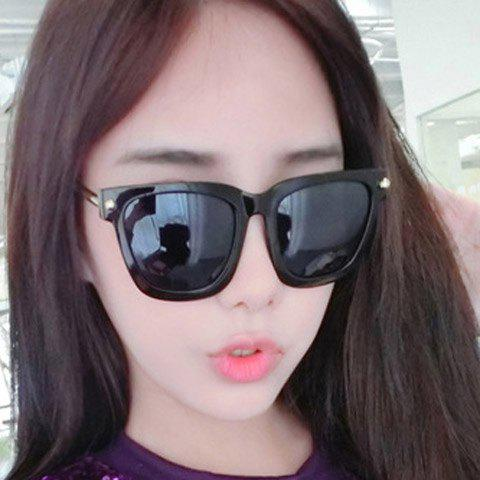 Store Chic Stud and Alloy Embellished Sunglasses For Women