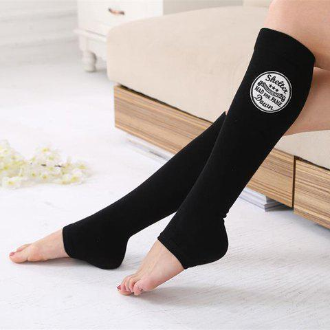 Hot Pair of Chic Various Embroidery Foot Step Warmth Leg Warmers For Women