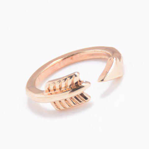 Store Alloy Arrow Cuff Ring