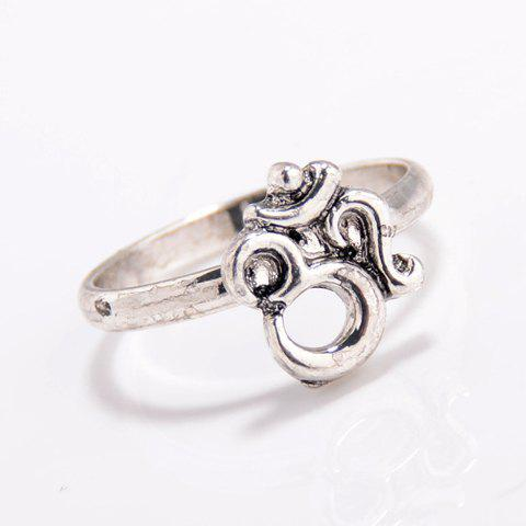Hot Vintage 3D Number Ring -   Mobile