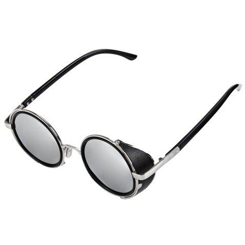 Sale Punk Alloy Round Full Frame Sunglasses