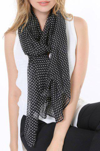Trendy Chic Polka Dots Pattern Multifunctional Scarf For Women