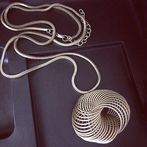 Chic Characteristic Solid Color Pendant Sweater Chain For Women