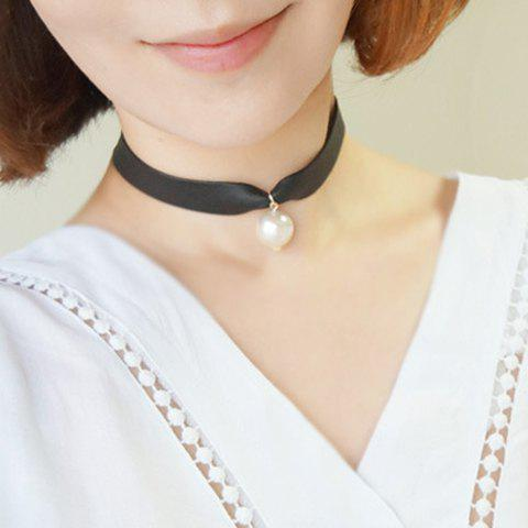 Discount Trendy Faux Pearl Choker Necklace For Women