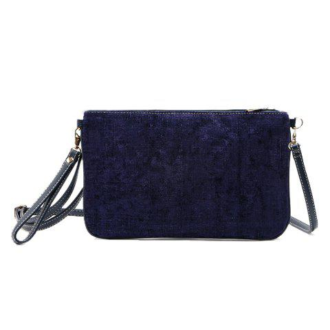 Outfit Trendy Corduroy and Solid Color Design Women's Clutch Bag