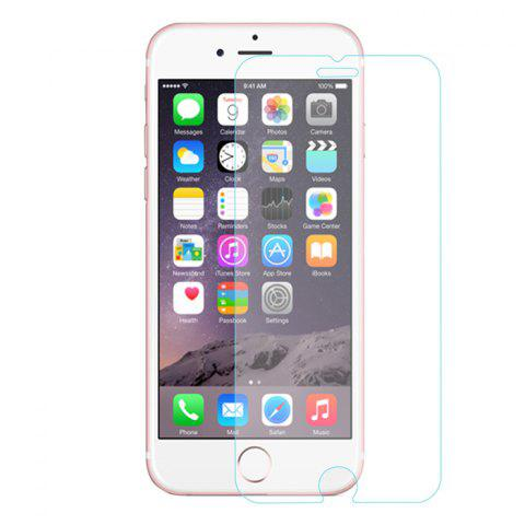 Outfit ENKAY 2 in 1 Protective Back Case Tempered Glass Screen Protector for iPhone 6 / 6S with Stand 0.26mm Ultrathin 9H 2.5D Film - PINK  Mobile