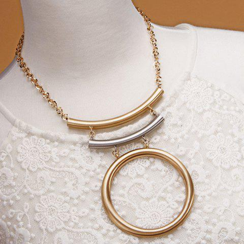 Store Vintage Multilayer Bar Necklace For Women