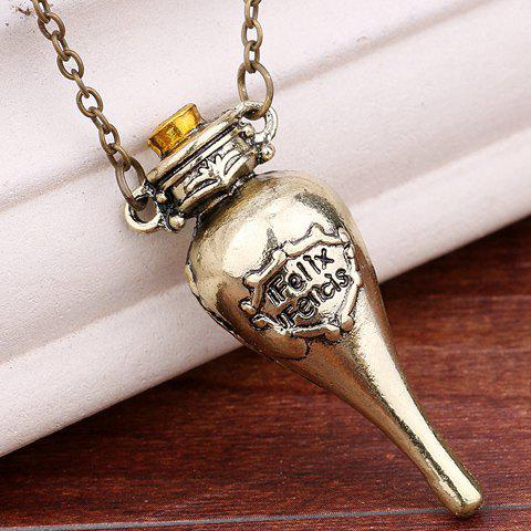 Shops Harry Potter Felixfelicis Costume Pendant Necklace COPPER COLOR