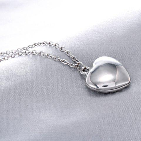 Store Sweet Luminous Heart Necklace For Women - RANDOM COLOR  Mobile