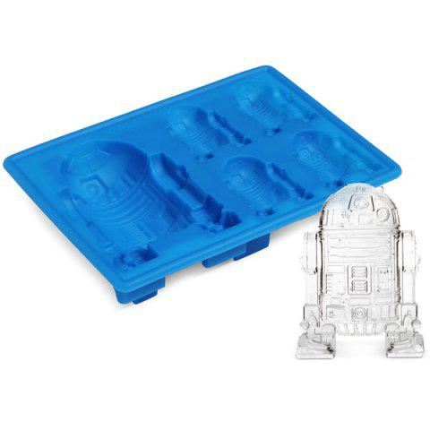 Unique Cute Star Wars Robot R2-D2 Mold Multi-Function Silicon Ice Cube Tray