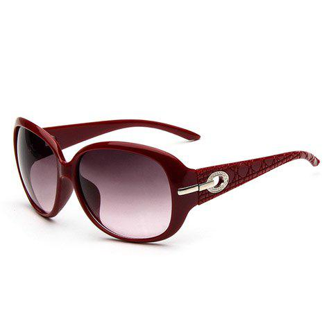 Outfits Hollow Alloy Inlay UV Protection Polarized Sunglasses