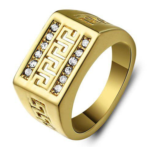 Shop Vintage Rhinestone Hollow Out Ring