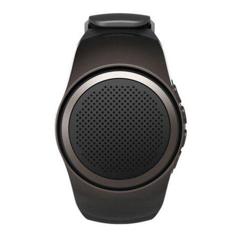 Trendy YUHAI Bluetooth 2.1 Watch Style Music Speaker Hands-free Call Wristwatch
