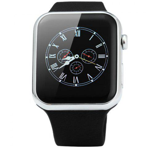 New A9 Bluetooth 4.0 Smart Watch with Heart Rate Monitor Sport Tracker - SILVER  Mobile