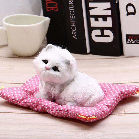 Buy Simulation Animal Squatting Cat Craft Toy with Sound