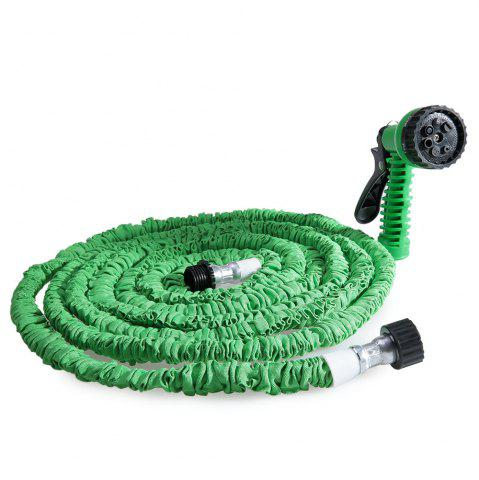 Store 50FT Expandable Garden Hose Pipe with 7 in 1 Spray Gun - GREEN  Mobile