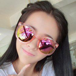 Arrow Embellished Transparent Frame Gradient Sunglasses