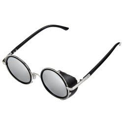 Punk Alloy Round Full Frame Sunglasses -