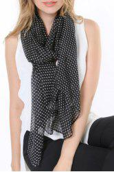 Chic Polka Dots Pattern Multifunctional Scarf For Women -