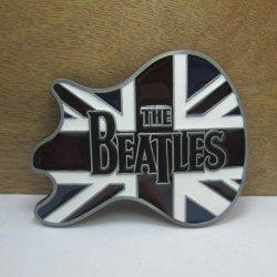 Stylish Letter and Union Flag Shape Embellished Metal Belt Buckle For Men -