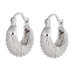 Pair of Fish Shape Alloy Earrings