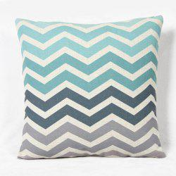 Fashion Square Stripe Pattern Decorative Pillowcase(Without Pillow Inner) - COLORMIX