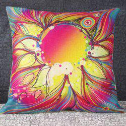 Classical Flower Pattern Decorative Pillowcase(Without Pillow Inner) -