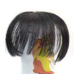 Fashion Shaggy Synthetic Straight Clip In Capless Ultrathin Full Bang For Women
