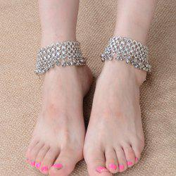 ONE PIECE Delicate Layered Tiny Bell Tassel Anklet For Women -