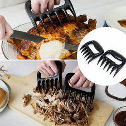 High Quality Bear Claw Shape Barbecue Fork -