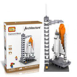 710Pcs 9384 Space Shuttle Building Block Educational Kid Toy - World Great Architecture Series - Blanc
