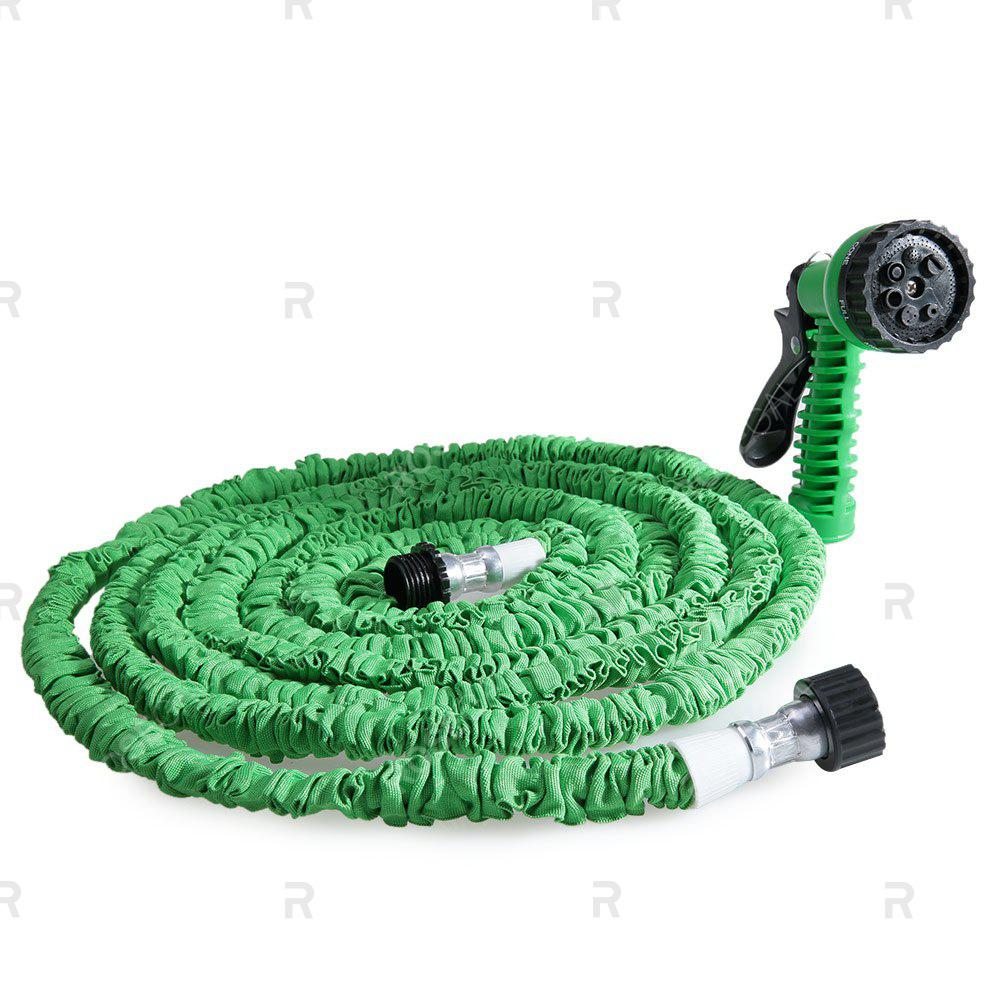 50FT Expandable Garden Hose Pipe with 7 in 1 Spray GunHOME<br><br>Color: GREEN; Color: Blue,Green,Orange;