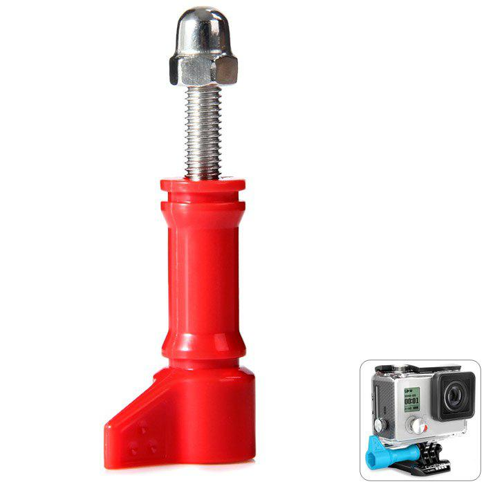Hi-Torque Thumbscrews with PC Action Sports Camera AccessoryHOME<br><br>Color: RED; Type: Other Camping Gear; Material: Imported PC + Stainless Steel;